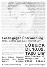 """Plakat """"Lübeck"""""""