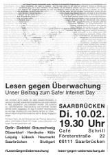 "Plakat ""Saarbrücken"""