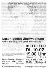 "Plakat ""Bielefeld"""