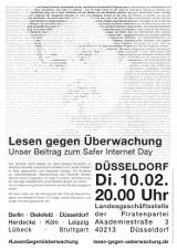 """Plakat """"Düsseldorf"""""""