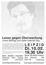 "Plakat ""Leipzig"""