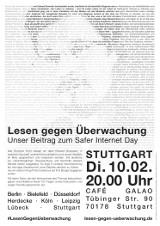 """Plakat """"Stuttgart"""""""