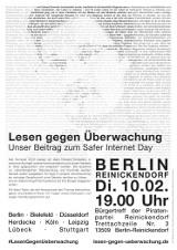 """Plakat """"Berlin Reinickendorf"""""""
