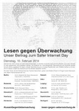 """Plakat """"Übersicht"""""""